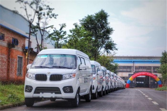 聚马飞腾M1新能源物流车亮相 搭载自主研发的三电系统