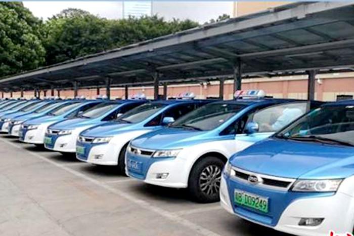 深圳巴士集团实现深圳出租车全面电动化
