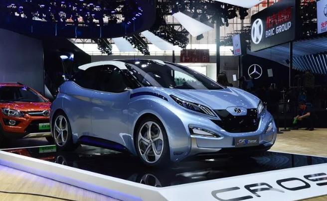 北汽新能源EX3申报图曝光 新车有望年内上市销售