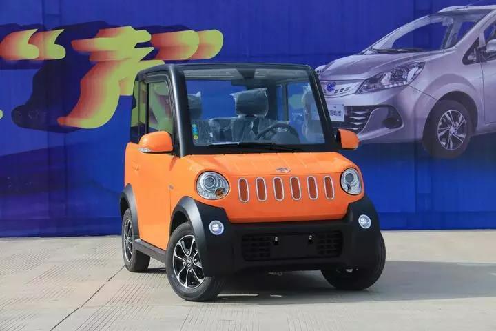 易咖260梦想版新能源车型上市 采用后置后驱动力布局