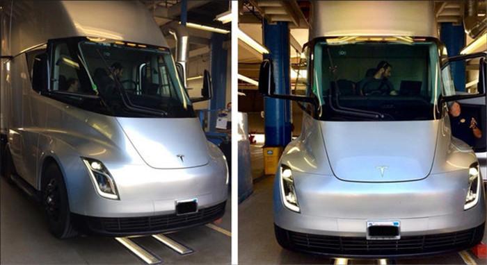 <a href=http://www.bevzc.com/news/xinche/ target=_blank class=infotextkey>特斯拉</a>Semi原型电动卡车在美进行检测 计划明年投产