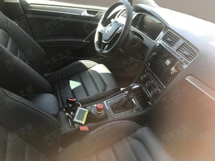 一汽-大众e-Golf谍照曝光 或使用大容量国产电池