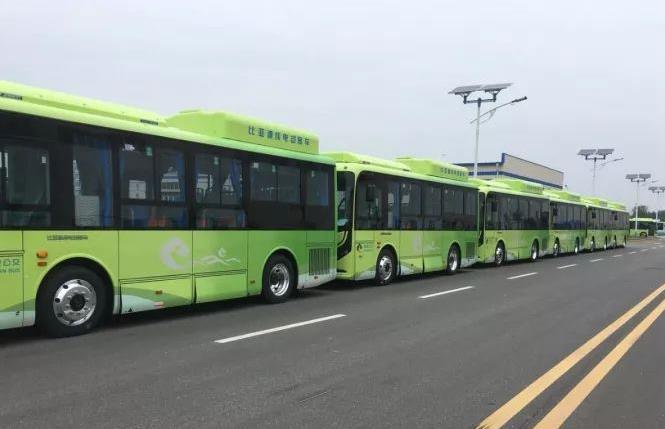 绵竹切实抓好节能减排工作 大力推行新能源纯电动公交车
