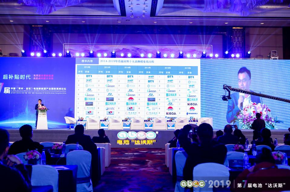 吴辉:深度解读2019年度中国锂电池产业链年度竞争力品牌榜单