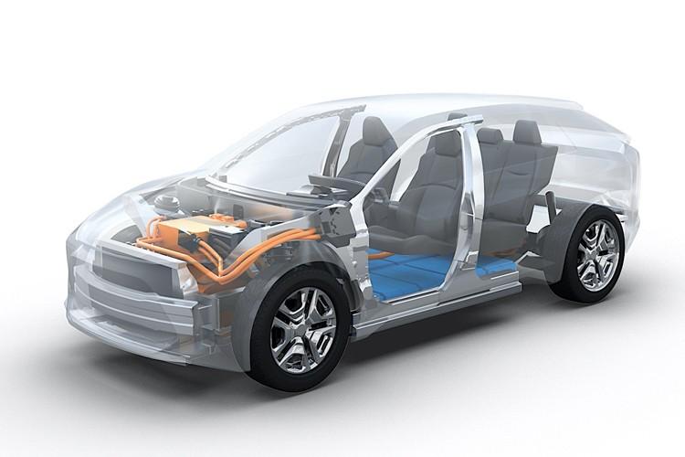 与丰田合作研发 斯巴鲁将推出首款纯电动SUV