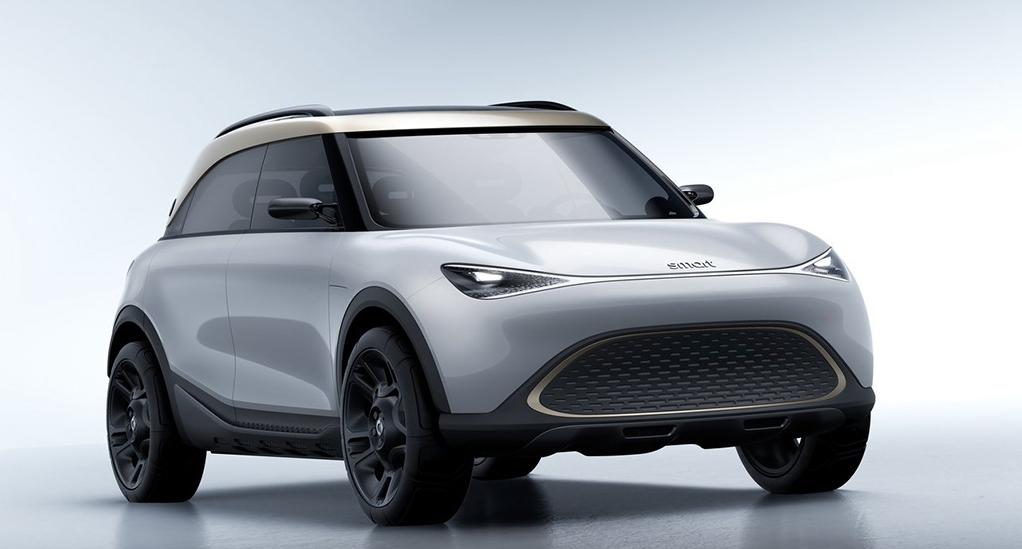 没有曾经的影子/将在国内生产 smart发布全新概念车精灵#1