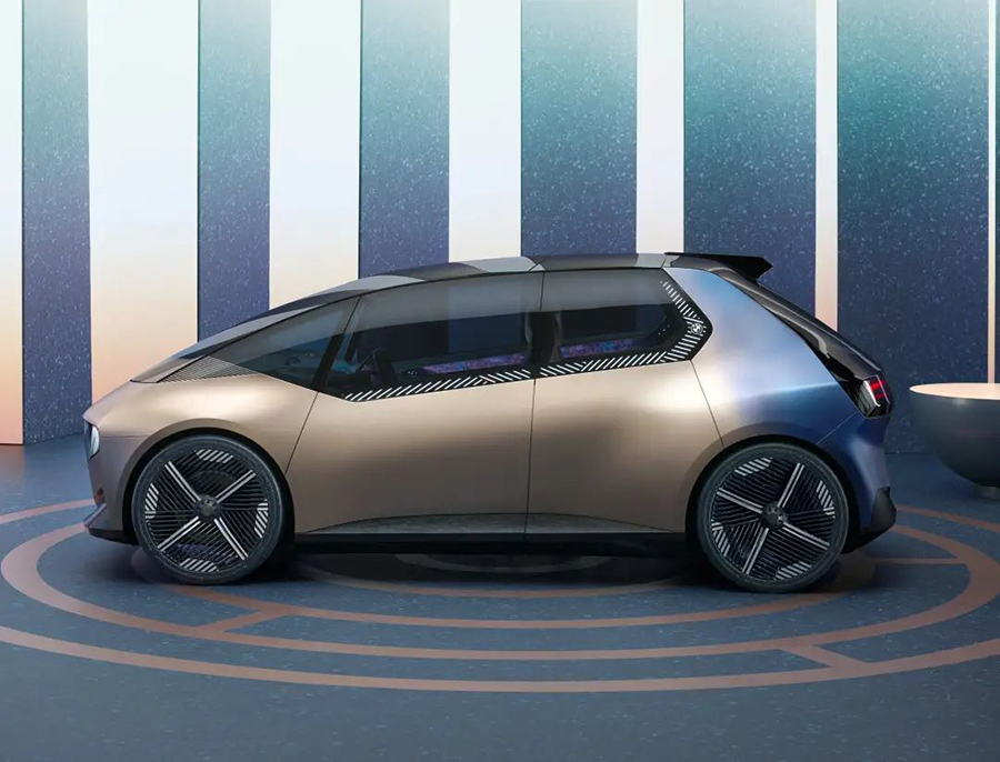 整车数字化,100%再利用材料打造,宝马首发i循环概念车