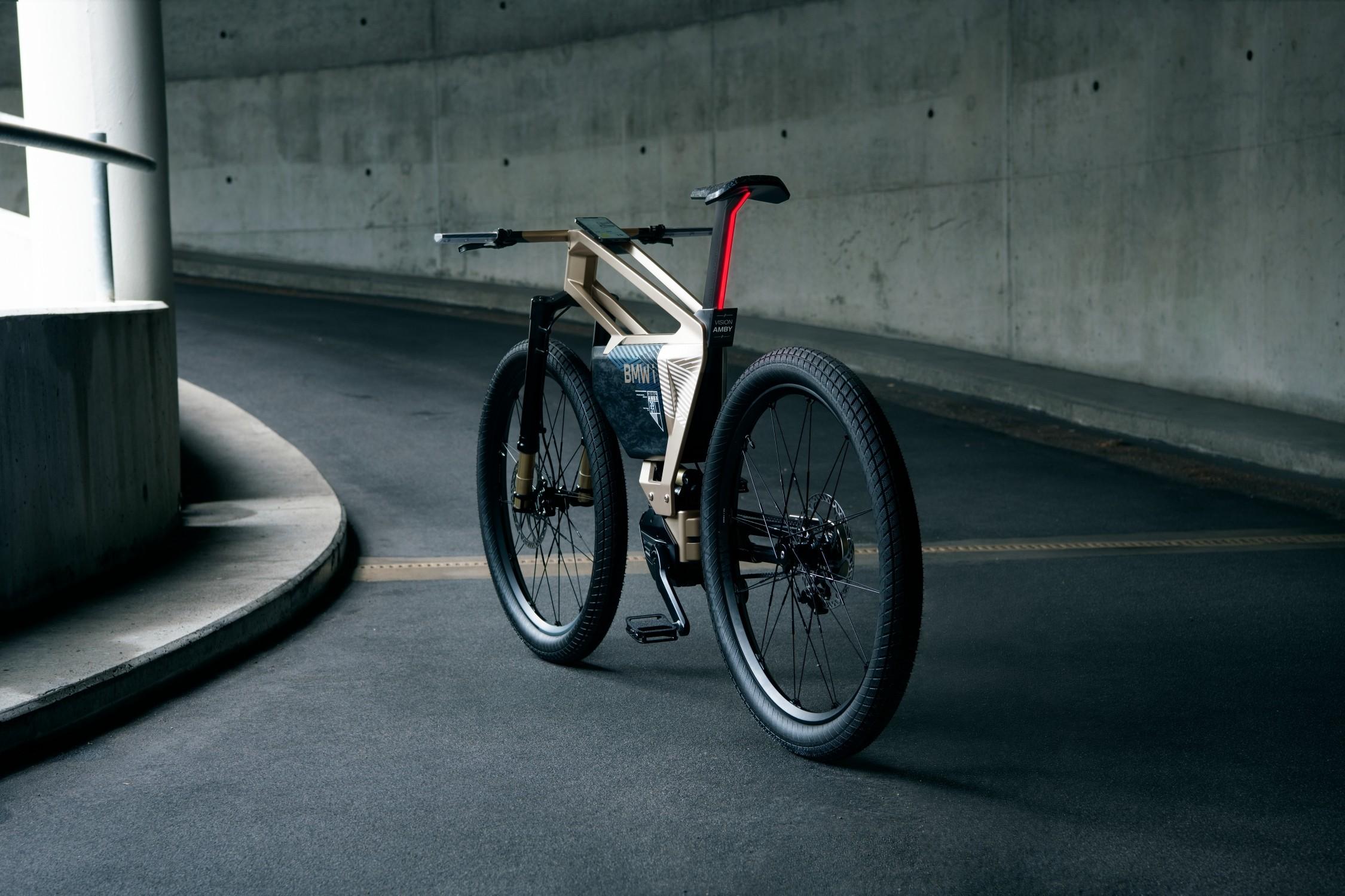 改变拥堵/未来出行工具 宝马推出电动自行概念车