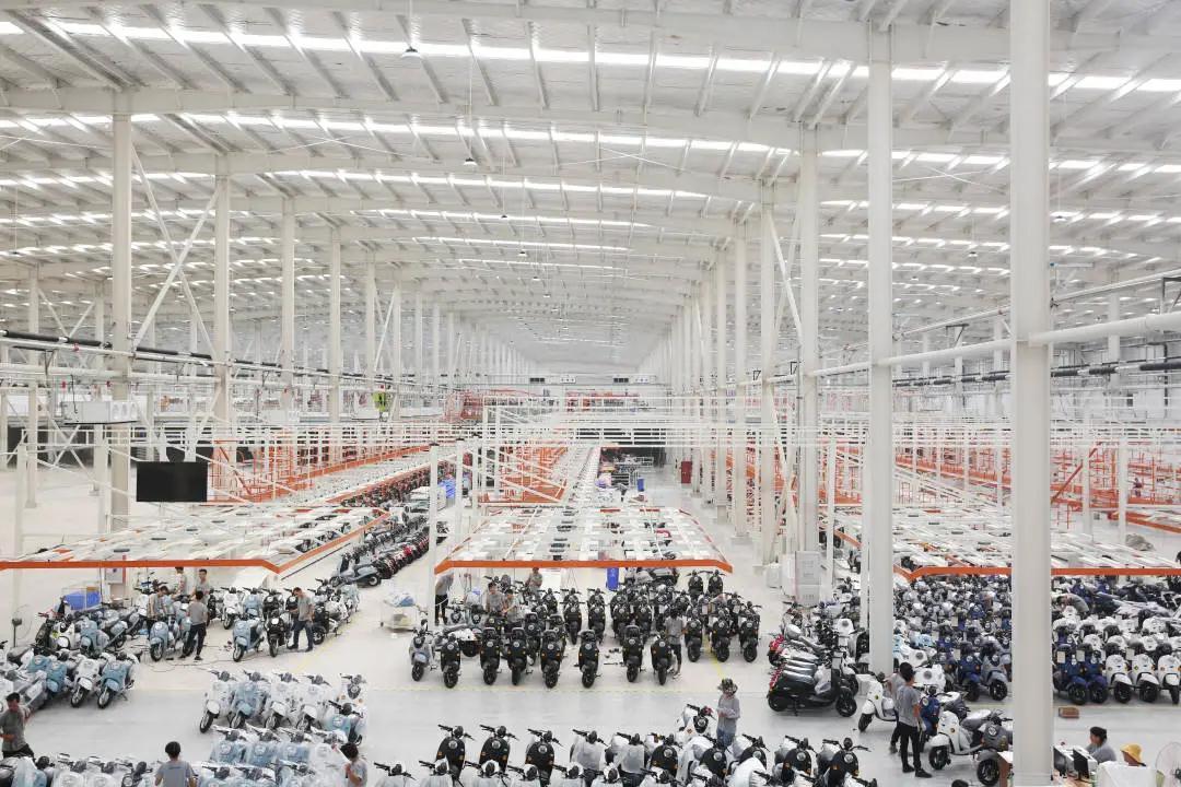 绿源广西贵港智能工厂投用 电动两轮车年产能达200万台