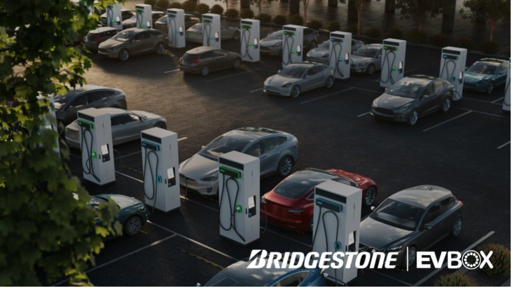 普利司通与EVBox达成合作 5年内将在欧洲建设3500个充电柱
